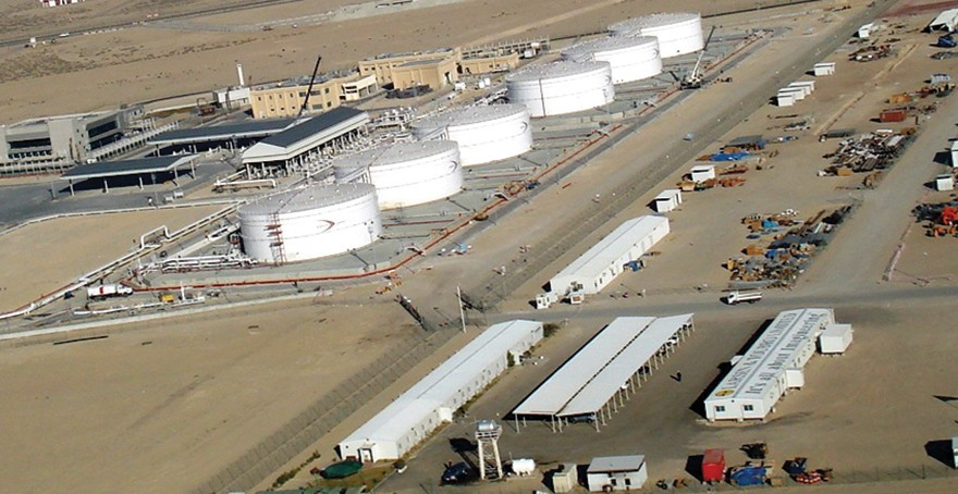 Kuwait Jet Fuel Tanks Project
